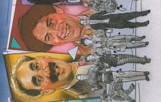 """Art Ducko: An Illustrated History of the Marx Brothers"" - front cover"